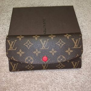 Authentic Louis Vuitton Monogram Emilie Wallet